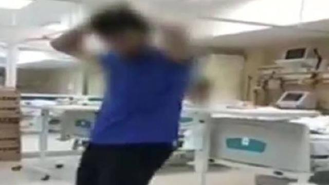 İstanbul'da bir özel hastanede şoke eden görüntüler