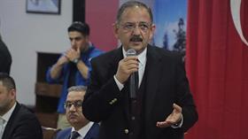 Bakan Özhaseki kentsel dönüşümle ilgili flaş açıklama!
