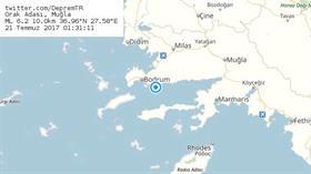 Son dakika: Ege'de büyük deprem! Depremin merkez üssü Muğla'nın Bodrum ilçesi olduğu belirtiliyor