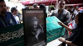 Harun Kolçak'a son veda
