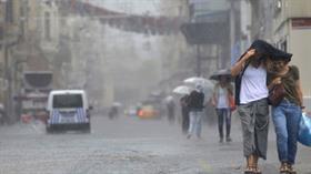Meteoroloji'den İstanbul için uyarı: Gök gürültülü sağanak yağış