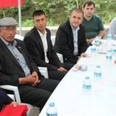 Şehit Ömer Halisdemir'in babasından şehit Eren Bülbül'ün ailesine taziye ziyareti
