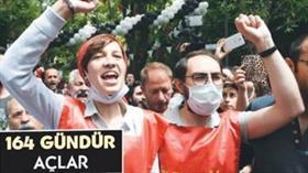 Cumhuriyet gazetesi terörist Akça ve Gülmen'in 164 gündür aç olduğunu iddia etti