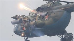 Rusya ordusuna ait helikopter, Zapad-2017 askeri tatbikatı sırasında yanlış hedefi vurdu
