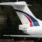 Yunanistan'da uçak dağlık bölgeye düştü