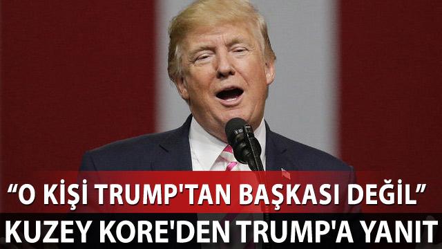 Kuzey Kore'den Trump'a yanıt
