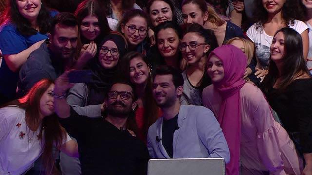 Aamir Khan Kim Milyoner Olmak İster'e katıldı