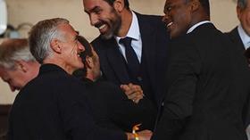 Fransız üç efsane Beşiktaş'ı görünce şaşırdı kaldı