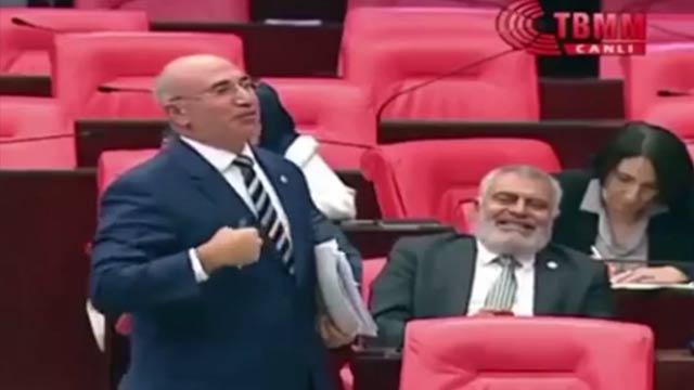 FETÖ destekçisi CHP'li Mahmut Tanal Meclis Genel Kurulu'nda fena rezil oldu