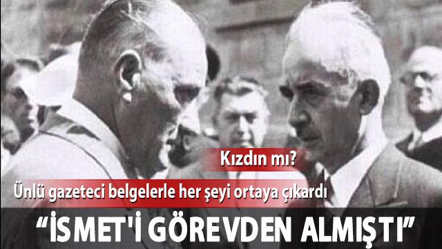 Murat Bardakçıdan Gündemi Sarsacak Belgeler Atatürk De Ismet Inönü
