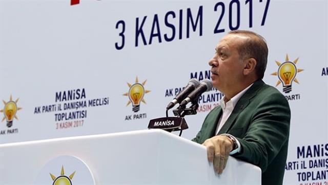 Image result for Erdoğan Manisa'da AKP İl Danışma Meclisinde konuştu