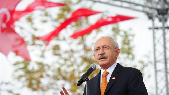 Tekirdağ'da Kılıçdaroğlu'nu şoke eden pankart