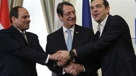 Yunanistan, Mısır ve Kıbrıs Rum Kesimi'nden Türkiye'ye karşı enerji zirvesi