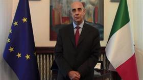 İtalya'nın Ankara Büyükelçisi Luigi Mattiolo: Türkiye'nin yeri Avrupa'dır