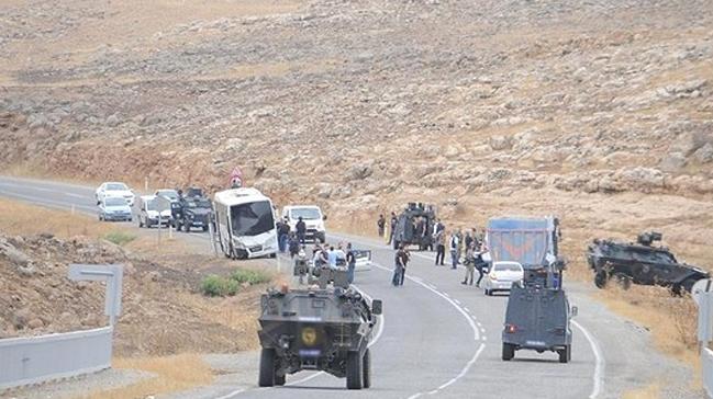 Silopi'de askeri araca roketatar ve uzun namlulu silahlarla saldırı: 2 askerimiz yaralandı