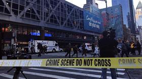 New York'ta alarm! Yerel medya, otobüs terminalinde bir patlama meydana geldiğini aktardı
