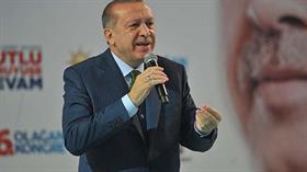 Cumhurbaşkanı Erdoğan: Oraları teröristlerden temizleyeceğiz