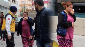 Cani koca, 7 aylık hamile eşine cadde ortasında 'dışarda ne işin var' dayağı attı