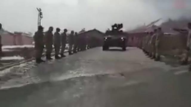 Komandoların Afrin'e dualarla ve mehteranla uğurlandığı anlar