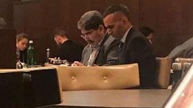 Terör örgütü PYD'nin eşbaşkanı Salih Müslim Prag Marriot Hotel'de ortaya çıktı