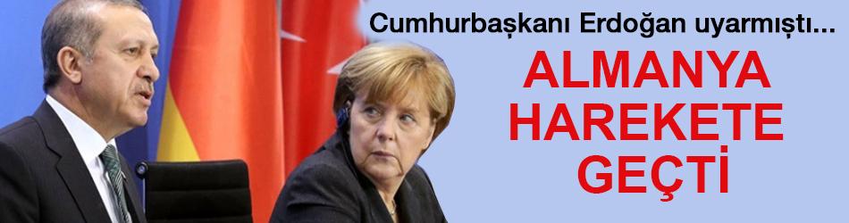 Almanya terör korkusundan tatbikat yaptı