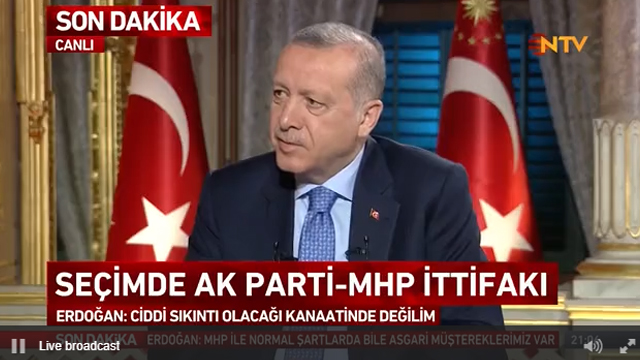 Cumhurbaşkanı Erdoğan: Tehdit stratejik ortaklardan geliyor