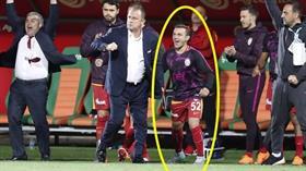 Celil Yüksel, Fatih Terim tarafından sürpriz bir şekilde Alanyaspor maçının kadrosuna alındı