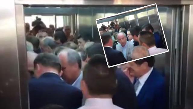 CHP Genel Merkezinde asansör krizi…
