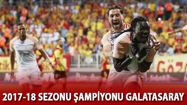 2017-2018 sezonu şampiyonu Galatasaray