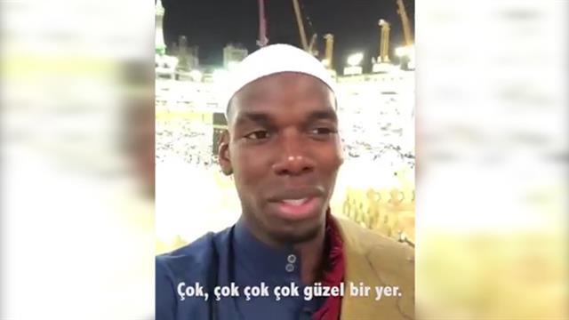Paul Pogba Kabe'de