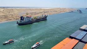 Muhalefetin iptal edeceğiz dediği Kanal İstanbul'un muadili Süveyş Kanalı mayıs ayında para bastı