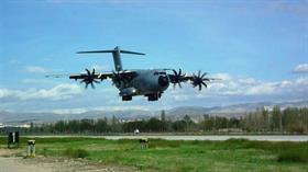 Genelkurmay resmen duyurdu... A400M Atlas uçağı Türkiye'ye böyle geldi