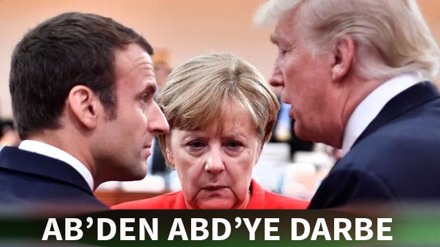 Avrupa Birliği'nden ABD'ye büyük darbe