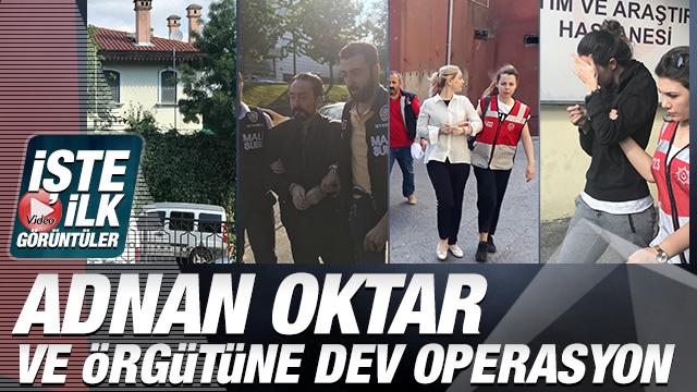 Adnan Oktar ve örgütüne dev operasyon! 'Adnan Hoca' ve kedicikleri gözaltında