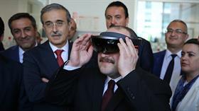 Sanayi ve Teknoloji Bakanı Mustafa Varank'ın ilk ziyareti Teknopark İstanbul oldu