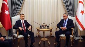 Cumhurbaşkanı Yardımcısı Oktay: Türkiye, iki tarafın da eşitliğini sağlayacak çözümü desteklemeye devam ediyor