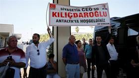 Kemal'e Antalya'da coşkulu karşılama: Siyasetin CEO'su Kılıçdaroğlu