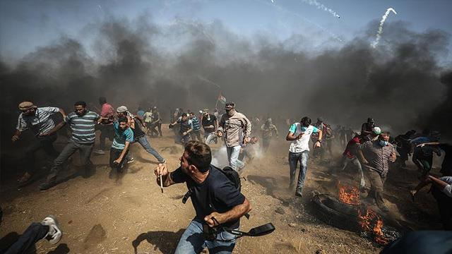 İsrail askeri 10 Filistinliyi yaraladı…