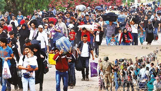 Siviller, İdlib'den ayrılmaya devam ediyor