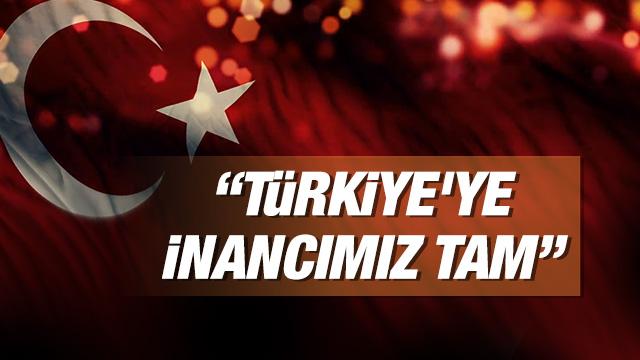 BP Türkiye Ülke Başkanı Mick Stump, Türkiye'ye inançlarının tam olduğunu belirterek, Her ekonominin kısa vadeli sorunları vardır, Türkiye bunları aşacak. Türkiye'nin jeopolitik önemi çok yüksek ve uzun vadeli potansiyeline inanıyoruz. dedi.