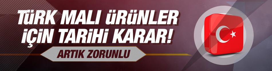Ticaret Bakanlığınca Türkiye'de üretilen mallar için etiketlere yerli olduğunu belirtir nitelikte ayırt edici işaret konulması zorunluluğu getirildi.