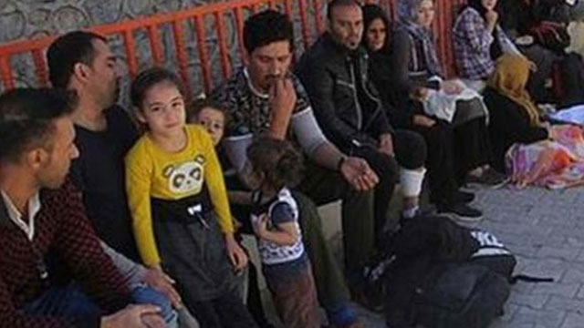 Kars'ta 10 düzensiz göçmen yakalandı