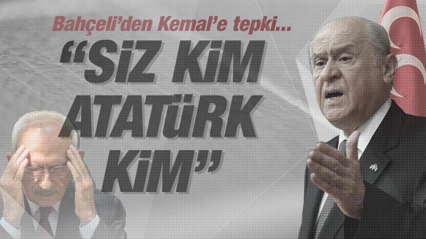 Bahçeli'den CHP'ye 'İş Bankası' tepkisi: Siz kim Atatürk kim
