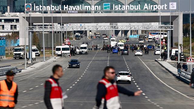 İstanbul'un yeni havalimanının tabelası asıldı ile ilgili görsel sonucu