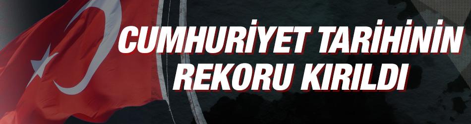 """""""Cumhuriyet tarihinin ihracat rekorunu kırdık"""""""