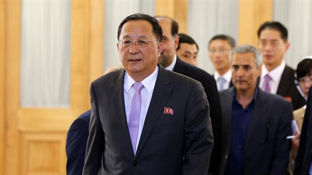 Kuzey Kore Dışişleri Bakanı Ri, Suriyeyi ziyaret etmeyi planlıyor 77