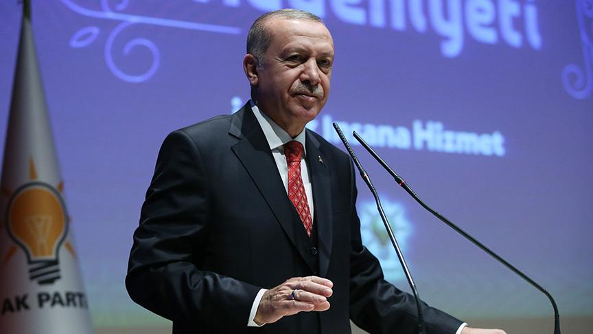 Başkan Erdoğan: Onların AK Parti çatısı altında yeri yok
