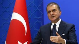 AK Parti Sözcüsü Çelik: Vandalizme ve barbarlığa dönük davetleri güçlü bir şekilde kınıyoruz