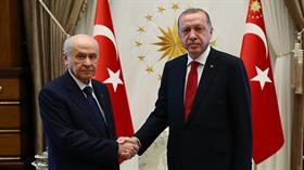 Bahçeli ve Başkan Erdoğan'ın görüşmesi başladı