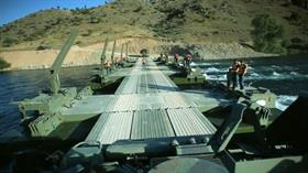 FNSS, karada ve suda hareket edebilen yüzücü köprü sistemi Samur'u ihraç etmeyi hedefliyor